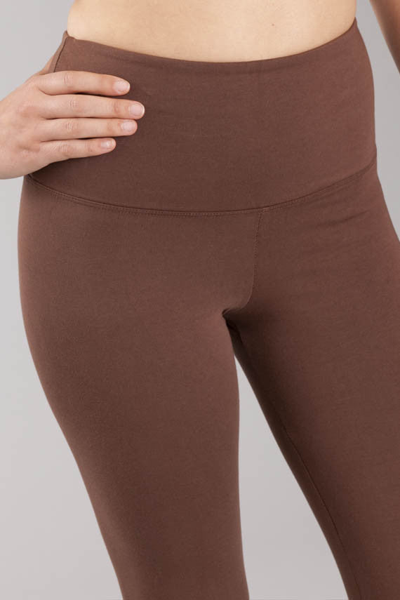 Svelte tight ankle leggings brown