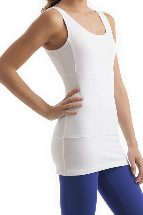 Svelte tank top white