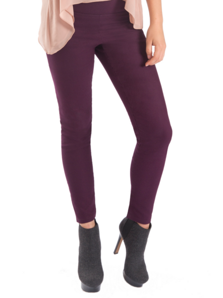 Tight Ankle Slit Leggings (cotton twill)