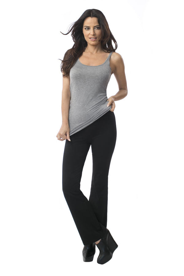 Svelt women's wide leg leggings black