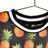 T-Shirt 'Sporty Pineapple'