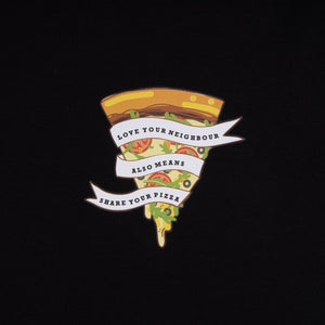 T-Shirt 'Pizza Vegi'