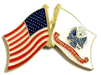 U.S. & Army Flag Lapel Pin