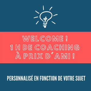 WELCOME COACHING! Offre spéciale !