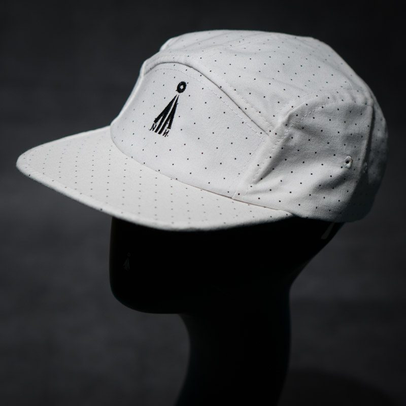 5 panel dotted cap