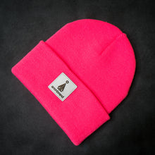 Load image into Gallery viewer, White-leather-label beanie (colors available)