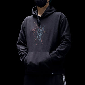 Cyber-Hand Hoodie - Guity