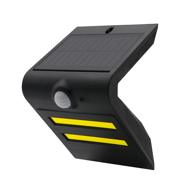 Solar Motion Sensor COB LED Wall Light with Backlight. Superior Quality. Super Bright, Super Charging and Super Lasting.