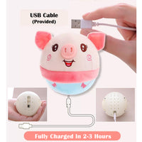 Adorable Piggy Ball Toy with Bouncing and Singing Actions. Baby Lullabies, Learn to Speak and Education Options