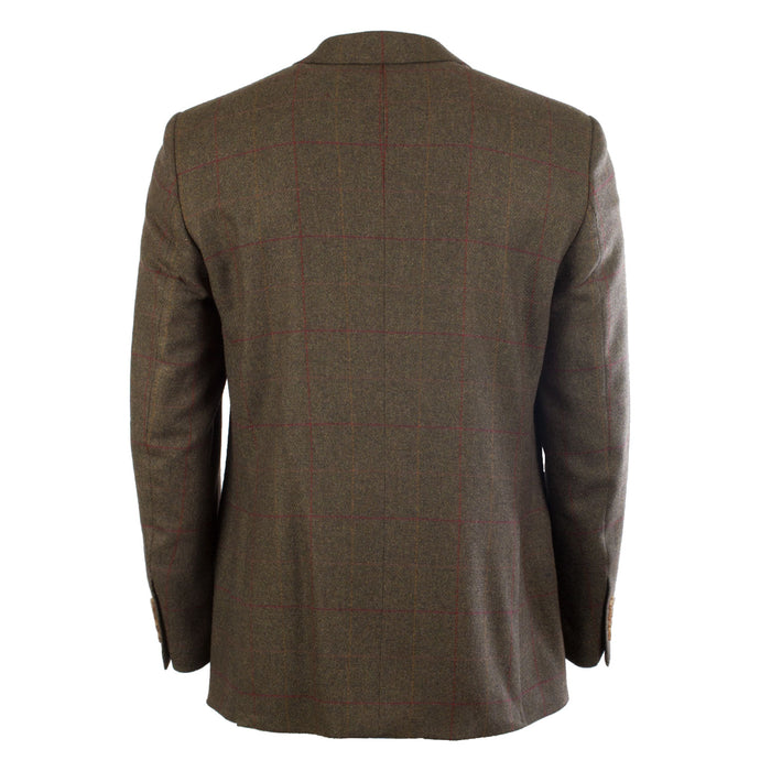 Brook Taverner Men's Bramcote Sb2 Side Vents Fashion Tweed Jacket