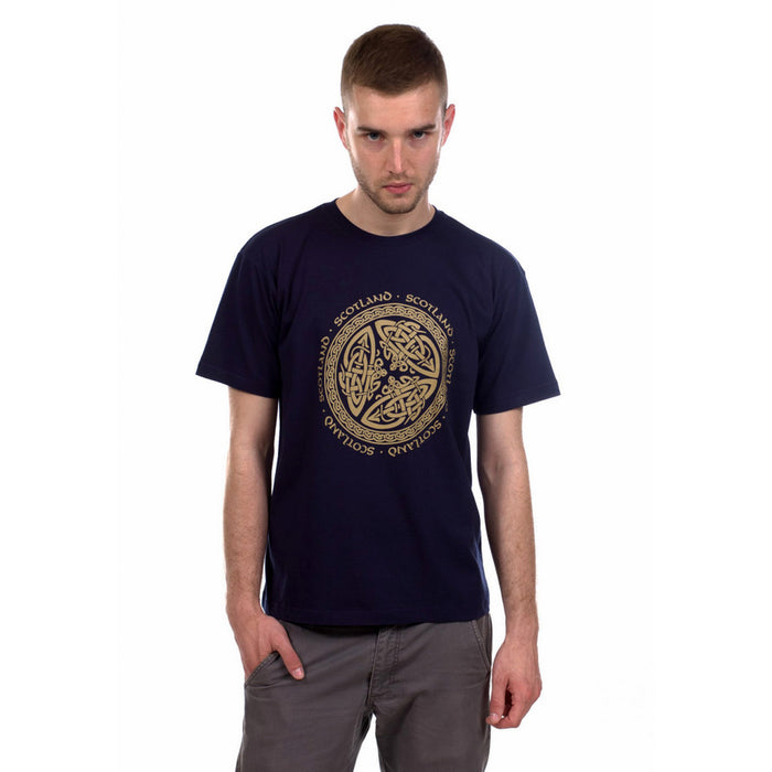 Heritage Of Scotland Men's Celtic Circle T-Shirt