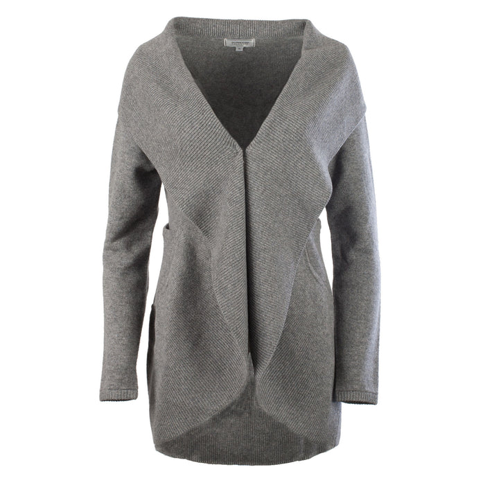 100% Cashmere Ladies Long Open Cardigan