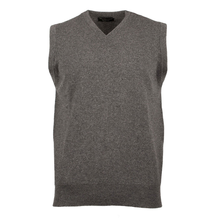 Pure Cashmere V Neck Men's Slipover