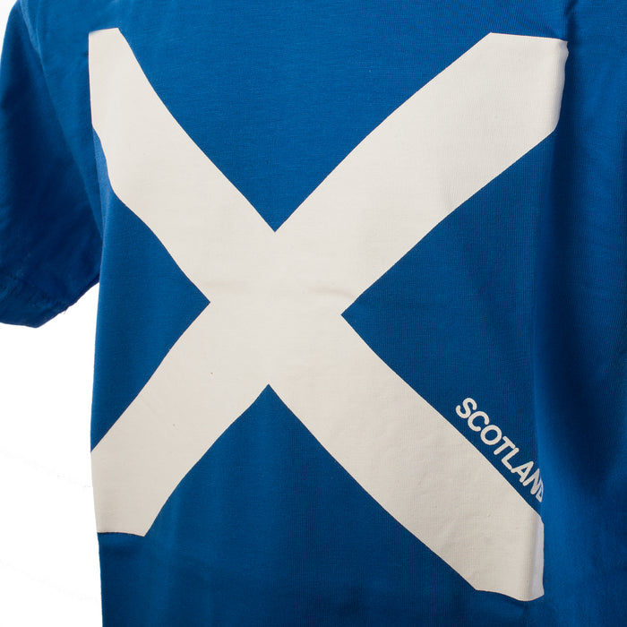Kids Scotland Saltire Flag T/Shirt