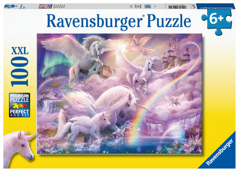 Ravensburger Puzzle 100 Piece, Pegasus Unicorns