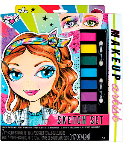 Fashion Angels Make-up Artist Sketch Set