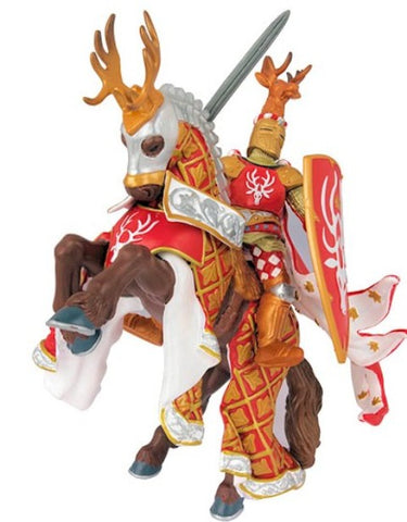Papo Weapon Master Stag Knight's Horse