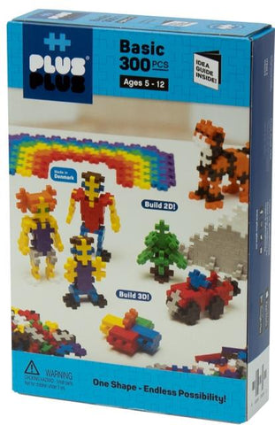 Plus-Plus Basic, 300 Piece