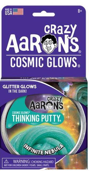 Aaron's Thinking Putty World Cosmic Glow - Infinite Nebula