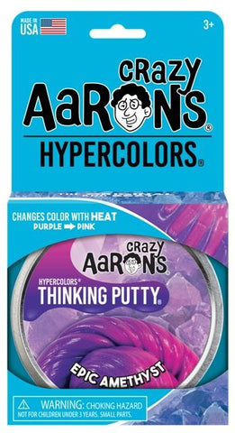 Aaron's Thinking Putty World Hypercolor - Epic Amethyst