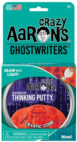 Aaron's Thinking Putty World Ghostwriters - Cryptic Code