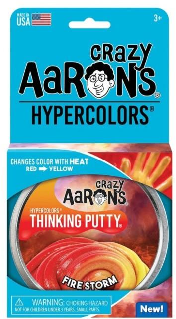 Aaron's Thinking Putty World Hypercolor - Fire Storm