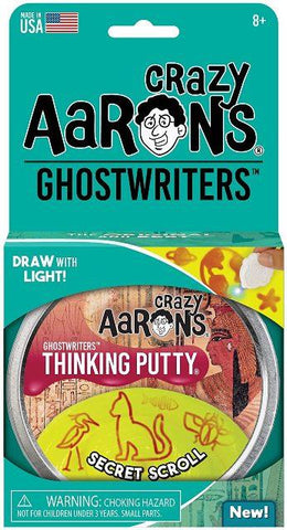 Aaron's Thinking Putty World Ghostwriters - Secret Scroll