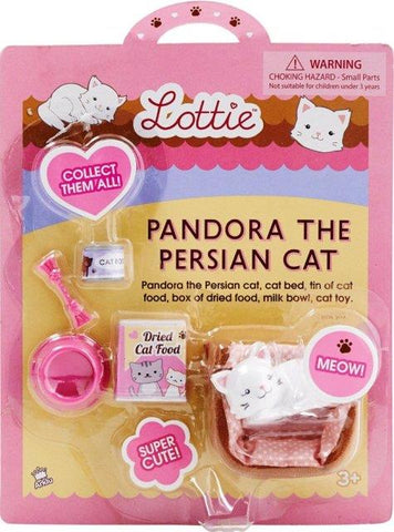 Lottie Dolls Accessory - Pandora the Persian Cat