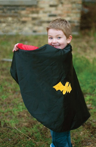 Great Pretenders Cape - Reversible Spider/Bat with Mask