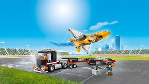 LEGO City Vehicle Airshow Jet Transporter