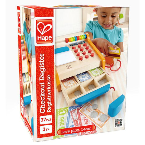 Hape Pretend Checkout Cash Register