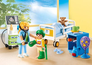 Playmobil City Life Hospital Children's Room