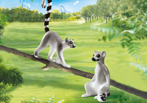Playmobil Family Fun Zoo Lemurs