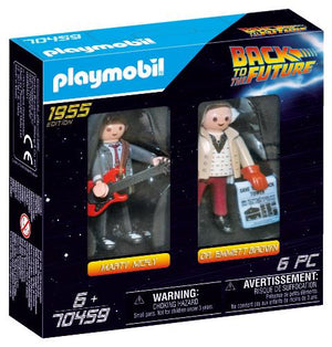 Playmobil Back to the Future Marty McFly & Doc Brown