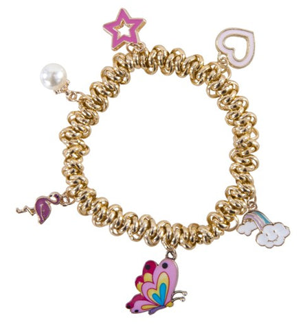 Great Pretenders Fashion - Charm-ed and Chain Bracelet