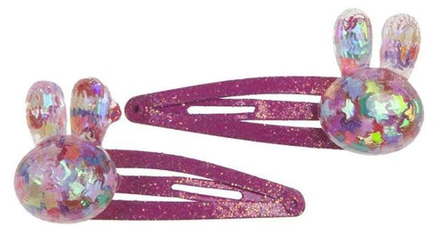 Great Pretenders Fashion - Bunny Bling Hair Clips