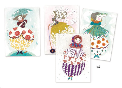 Djeco Art Kit - Foil Pictures So Pretty