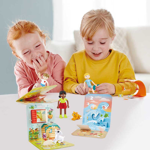 Hape Dollhouse Adventure Kids