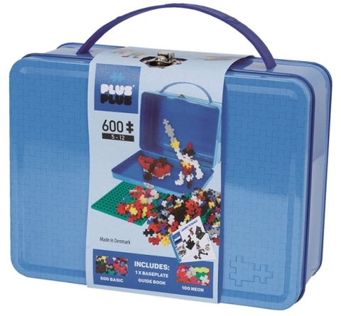 Plus-Plus Basic Suitcase, 600 Pieces