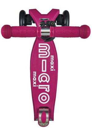 Micro Kickboard Maxi Deluxe Scooter - Berry Red