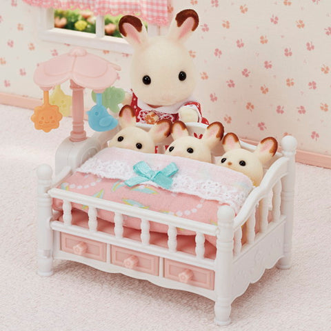 Calico Critters Furniture - Crib with Mobile
