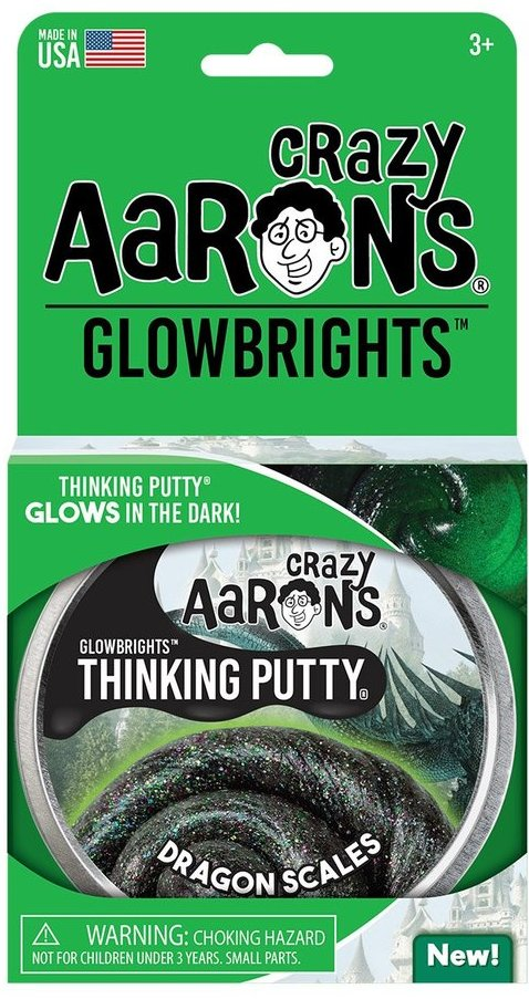 Aaron's Thinking Putty World Glowbrights - Dragon Scales