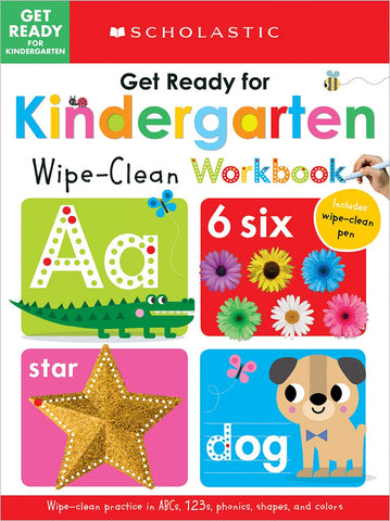 Scholastic Early Learners:  Workbook Get Ready For Kindergarten