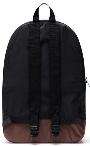 Herschel Packable Daypack Black/Saddle Brown