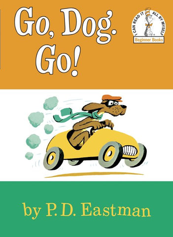 Dr. Seuss Go Dog Go, Board Book