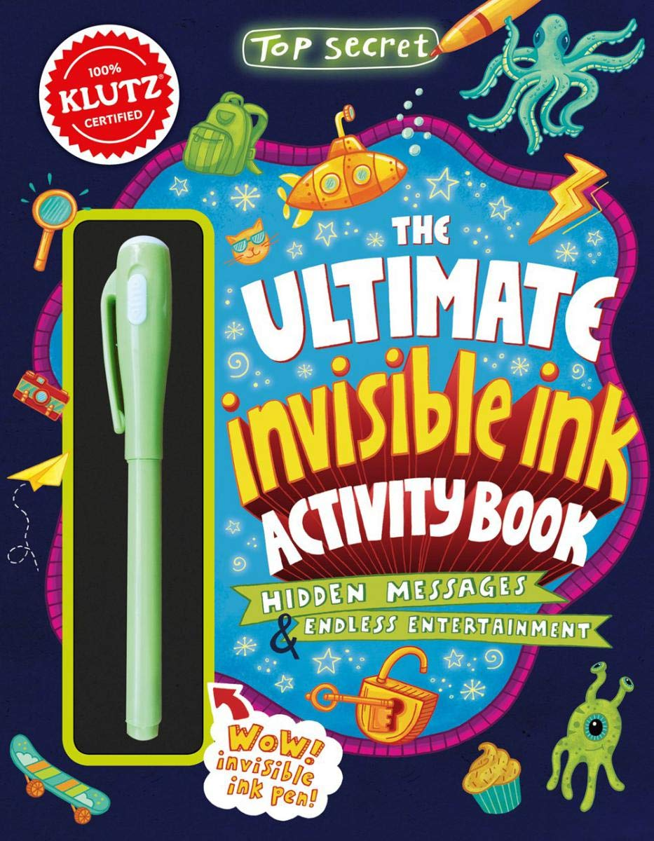 Klutz The Ultimate Invisible Ink Activity Book