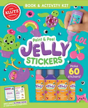 Klutz Paint & Peel Jelly Stickers