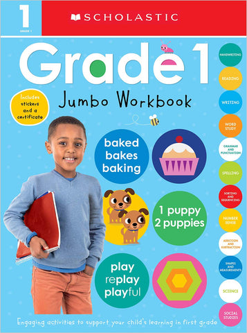 Scholastic Early Learners:  Jumbo Workbook Grade 1