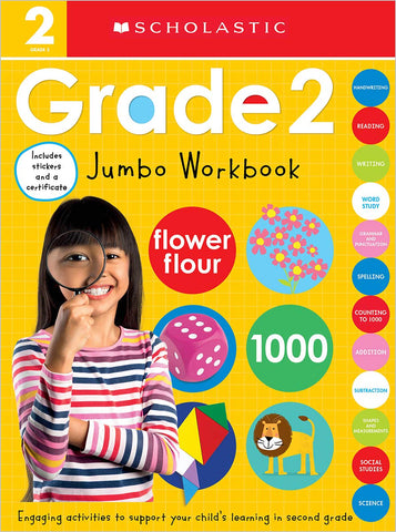 Scholastic Early Learners:  Jumbo Workbook Grade 2