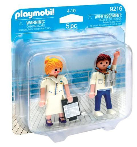 Playmobil Duo Cruise Ship Officers